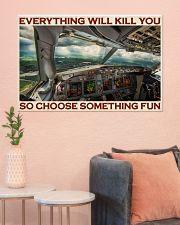 Aviation Pilot Choose Something Fun 36x24 Poster poster-landscape-36x24-lifestyle-18