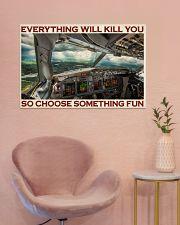 Aviation Pilot Choose Something Fun 36x24 Poster poster-landscape-36x24-lifestyle-19