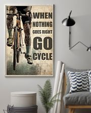 Tattoo Cyclist Go Right Go Cycle  24x36 Poster lifestyle-poster-1