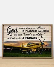 Crop Duster God Made A Farmer 36x24 Poster poster-landscape-36x24-lifestyle-03