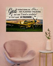 Crop Duster God Made A Farmer 36x24 Poster poster-landscape-36x24-lifestyle-19