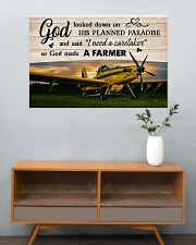 Crop Duster God Made A Farmer 36x24 Poster poster-landscape-36x24-lifestyle-21
