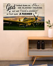 Crop Duster God Made A Farmer 36x24 Poster poster-landscape-36x24-lifestyle-22