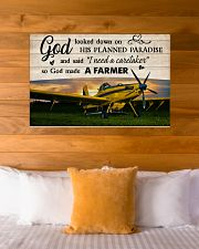 Crop Duster God Made A Farmer 36x24 Poster poster-landscape-36x24-lifestyle-23