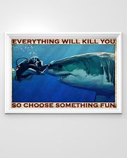Scuba Diving Be Brave 2 36x24 Poster poster-landscape-36x24-lifestyle-02