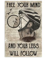 Cycling Your Legs Will Follow 24x36 Poster front