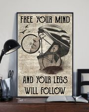 Cycling Your Legs Will Follow 24x36 Poster lifestyle-poster-2