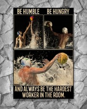 Water Polo Be Hungry  24x36 Poster aos-poster-portrait-24x36-lifestyle-13