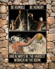Water Polo Be Hungry  24x36 Poster aos-poster-portrait-24x36-lifestyle-15
