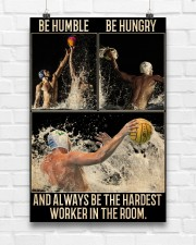 Water Polo Be Hungry  24x36 Poster aos-poster-portrait-24x36-lifestyle-17
