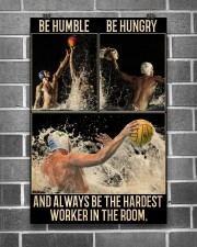 Water Polo Be Hungry  24x36 Poster aos-poster-portrait-24x36-lifestyle-18