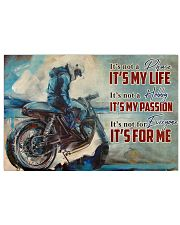 Motorcycle It's Not A Phase 36x24 Poster front