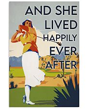 Golf Girl Happily Ever After  24x36 Poster front