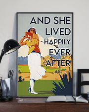 Golf Girl Happily Ever After  24x36 Poster lifestyle-poster-2
