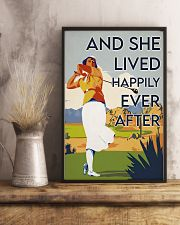 Golf Girl Happily Ever After  24x36 Poster lifestyle-poster-3