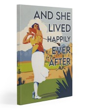 Golf Girl Happily Ever After  20x30 Gallery Wrapped Canvas Prints thumbnail