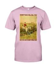 Fox Hunting Choose Something Fun Classic T-Shirt thumbnail
