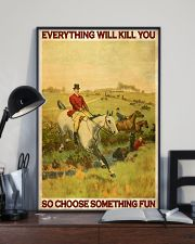 Fox Hunting Choose Something Fun 24x36 Poster lifestyle-poster-2