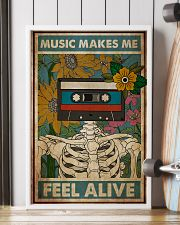 Music Makes Me Feel Alive 24x36 Poster lifestyle-poster-4
