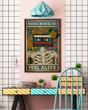 Music Makes Me Feel Alive 24x36 Poster lifestyle-poster-6