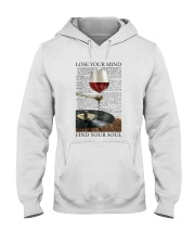 Wine And Vinyl Lose Your Mind Hooded Sweatshirt thumbnail
