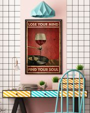 Wine And Vinyl Lose Your Mind 24x36 Poster lifestyle-poster-6