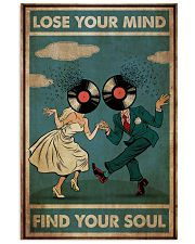 Groom Bride Lose Your Mind  24x36 Poster front