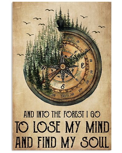 Compass Into The Forest