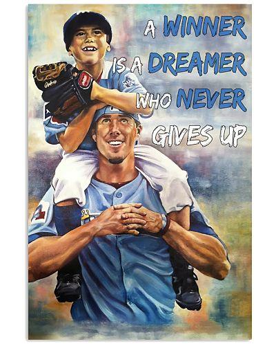 Baseball Winner Never Gives Up
