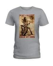 I'm Not Backrest Ladies T-Shirt tile
