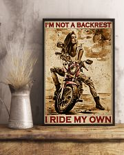 I'm Not Backrest 24x36 Poster lifestyle-poster-3