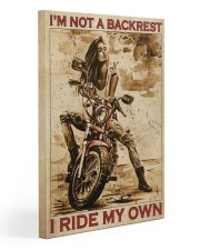 I'm Not Backrest Gallery Wrapped Canvas Prints tile