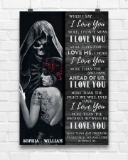 Sugar Skull I Love You 24x36 Poster aos-poster-portrait-24x36-lifestyle-17
