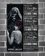 Sugar Skull I Love You 24x36 Poster aos-poster-portrait-24x36-lifestyle-18