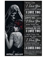 Sugar Skull I Love You 24x36 Poster front