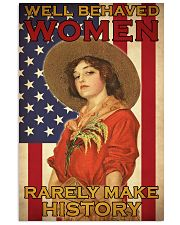 Farm Girl US Flag  24x36 Poster front
