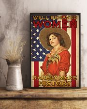 Farm Girl US Flag  24x36 Poster lifestyle-poster-3