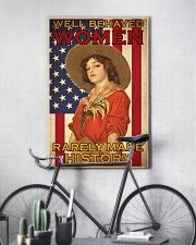 Farm Girl US Flag  24x36 Poster lifestyle-poster-7