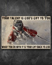Skier God's Gift To You 36x24 Poster aos-poster-landscape-36x24-lifestyle-11