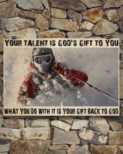 Skier God's Gift To You 36x24 Poster aos-poster-landscape-36x24-lifestyle-15
