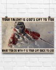Skier God's Gift To You 36x24 Poster aos-poster-landscape-36x24-lifestyle-16