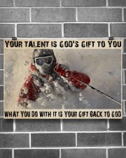 Skier God's Gift To You 36x24 Poster aos-poster-landscape-36x24-lifestyle-17