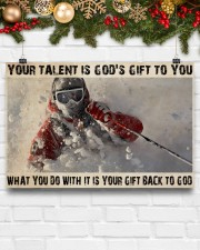 Skier God's Gift To You 36x24 Poster aos-poster-landscape-36x24-lifestyle-25