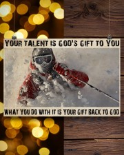 Skier God's Gift To You 36x24 Poster aos-poster-landscape-36x24-lifestyle-26