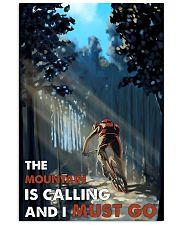 Mountain Biking Calling 24x36 Poster front