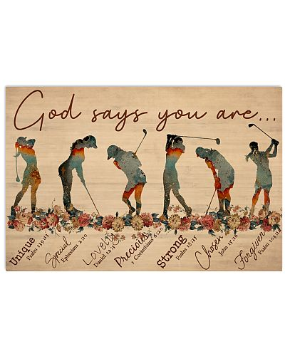 God Says You Are Golfers