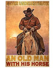 Old Man With His Horse 24x36 Poster front
