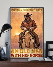 Old Man With His Horse 24x36 Poster lifestyle-poster-2