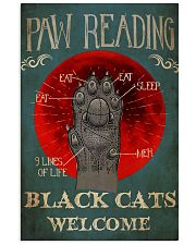 Paw Reading 24x36 Poster front