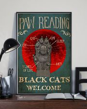 Paw Reading 24x36 Poster lifestyle-poster-2